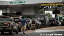 Brasilien Tankstelle in Brasilia