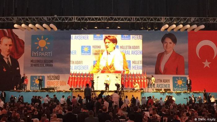 Предвыборное мероприятие оппозиционной Хорошей партии