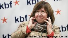 Swetlana Alexijewitsch, weißrussische Schriftstellerin