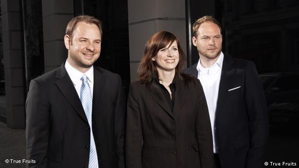 Николя Леклу, Инга Костер и Марк Кнауф во главе компании True Fruits