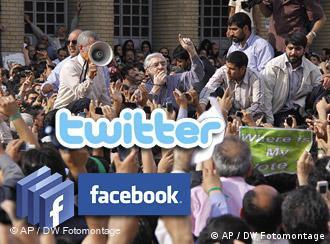 新社会媒体在伊朗大选引发的抗议活动中发挥了作用