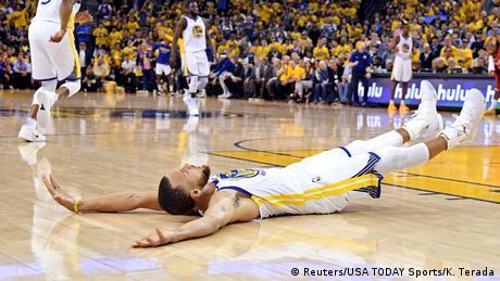 5. Bildergalerie Sportfoto Mai 2018 Stephen Curry von Golden State Warriors (Reuters/USA TODAY Sports/K. Terada)