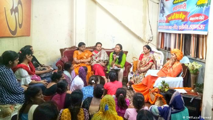 Menstruation seminar in Lucknow, India