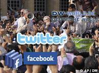 Τα ηλεκτρονικά κοινωνικά δίκτυα χρησιμοποιήθηκαν στο Ιράν από την αντιπολίτευση (2009)