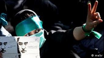 تظاهرکنندگان خواستار برگزاری مجدد انتخابات هستند