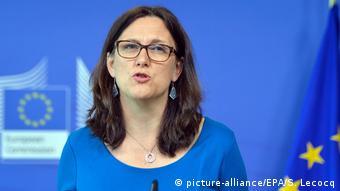 Cecilia Malmström (picture-alliance/EPA/S. Lecocq)