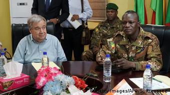 Mali Besuch UN Generalsekretär Antonio Guterres (Getty Images/AFP/S. Rieussec)
