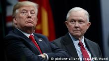 USA Donald Trump Justizminister Jeff Sessions