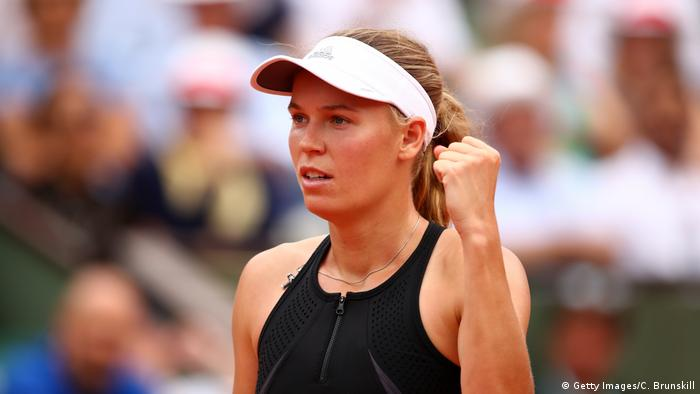 Tennis French Open 2018 Caroline Wozniacki (Getty Images/C. Brunskill)