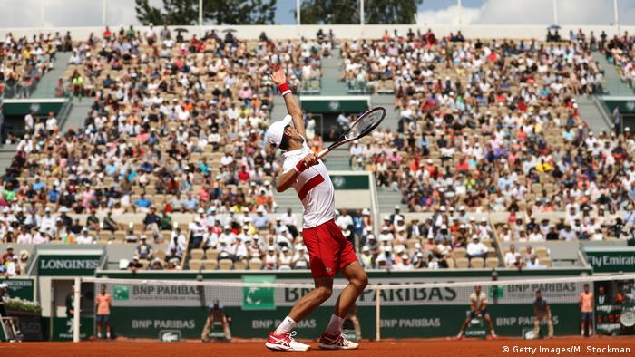 Tennis French Open 2018 Novak Djokovic (Getty Images/M. Stockman)