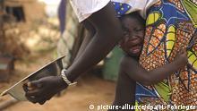 Burkina Faso Kind in einem Flüchtlingslager