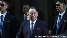 USA Treffen Mike Pompeo mit Kim Yong-Chol in New York