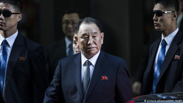 Kim Yong-Chol in New York