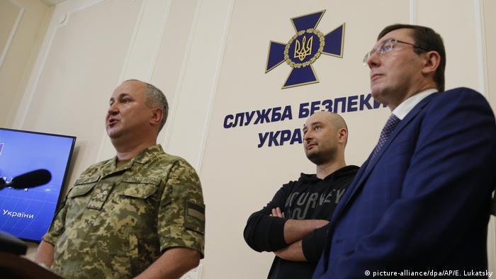 Ukraine Russischer Journalist Babtschenko lebt