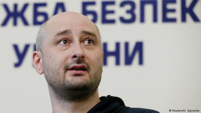 Ukraine Russischer Journalist Babtschenko is alive
