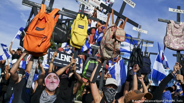 Nicaragua Proteste (picture-alliance/dpa/AP Photo/E. Felix)