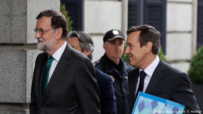 Spanien | Debatte über Abwahl von Rajoy (imago/Agencia EFE/J. C. Hidalgo)