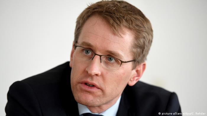 Daniel Günther, governador do estado de Schleswig-Holstein