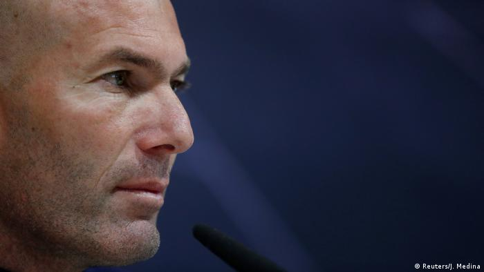 Spanien | Pressekonferenz - Zidane tritts als Trainer von Real Madrid zurück (Reuters/J. Medina)