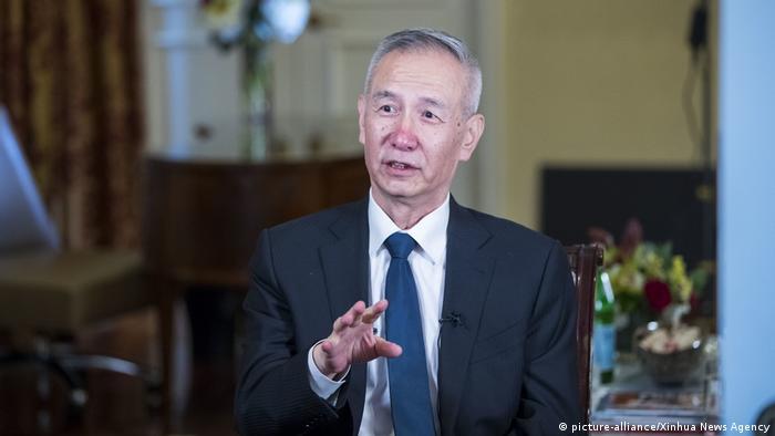 Stellvertretender Ministerpräsident der Volksrepublik China Liu He (picture-alliance/Xinhua News Agency)