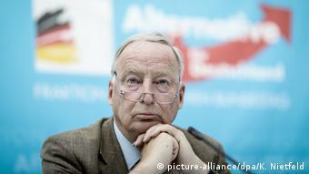 Deutschland Alexander Gauland, Fraktionsvorsitzender der AfD in Berlin