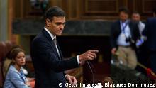 Spanien | Parlamentsdebatte zum Misstrauensvotum gegen Ministerpräsident Rajoy | Pedro Sanchez