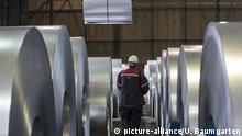 Deutschland | Stahlproduktion bei ThyssenKrupp in Duisburg