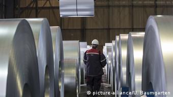 Türkiye'nin 11,5 milyar dolarlık toplam çelik ihracatının yaklaşık yüzde 10'u ABD'ye gerçekleştiriliyor.