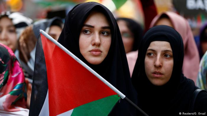 Türkei Protest in Istanbul | pro-palästinensischer Protest Jahrestag Mavi Marmara Gaza Flotte (Reuters/O. Orsal)