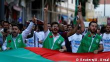 Türkei Protest in Istanbul | pro-palästinensischer Protest Jahrestag Mavi Marmara Gaza Flotte