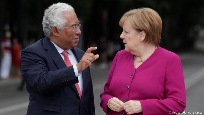 António Costa e Angela Merkel também conversaram sobre o futuro da Europa