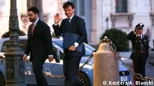 31.05.2018 *** Italy's Prime Minister-designate Giuseppe Conte arrives at the Quirinal Palace in Rome, Italy, May 31, 2018. REUTERS/Alessandro Bianchi