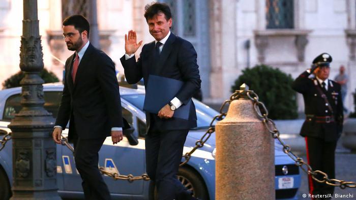 Italien Regierungsbildung | Giuseppe Conte, designierter Premierminister (Reuters/A. Bianchi)