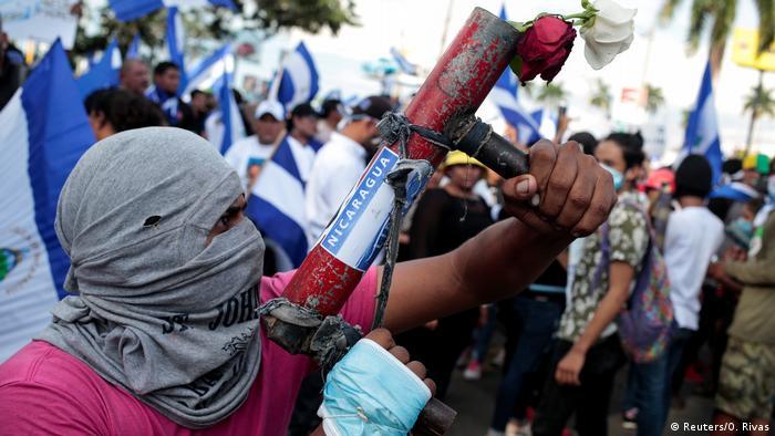 Nicaragua Proteste in Managua (Reuters/O. Rivas)