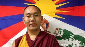 Taiwan- Dzogchen Khenpo Jampal Tibetanischer Konkressabgeordneter der Central Tibetan Administration (DW/T. Tzung Han)