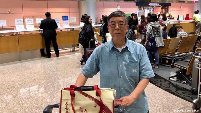 Taiwan - Wu Jen Hwa - Geisteswissenschaftler studiert die 89 Bürgerbewegung (DW/T. Tzung Han)