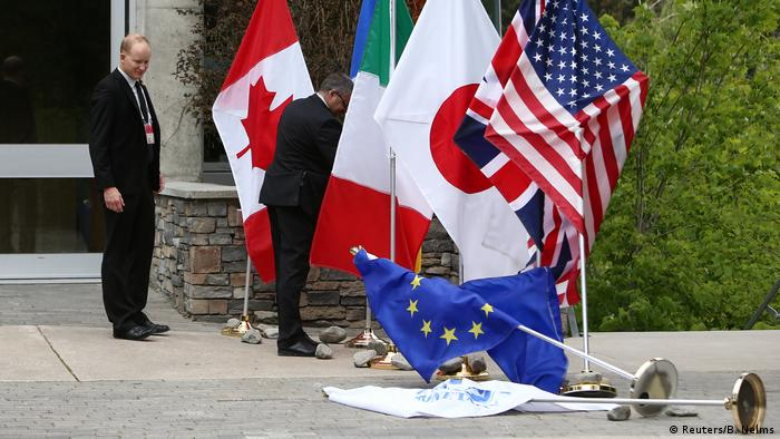G7 Gipfel in Kanada (Reuters/B. Nelms)