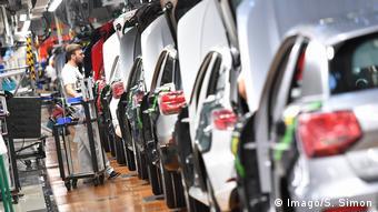 На заводе Audi в Ингольштадте