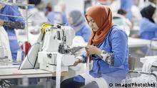 Tunesien Produktion des Textilunternehmen Sartex in Ksar Hella