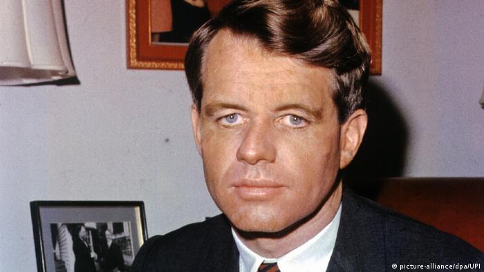 Archivbild: Robert Francis Kennedy - US-amerikanischer Senator und Präsidentschaftskandidat der Demokraten