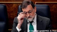 Spanien Madrid - Misstrauensantrag gegen spanischen Ministerpräsidenten Rajoy
