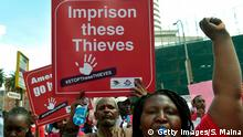 Kenia Afrika Proteste gegen Korruption