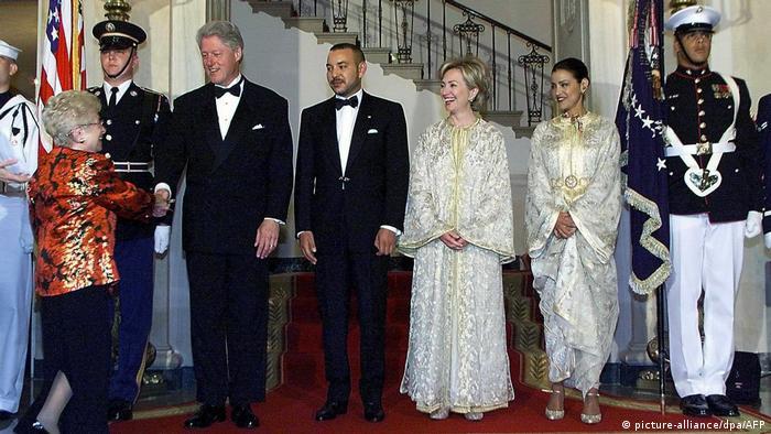 Рут Вестхаймер на приеме в Белом доме, 2000 год