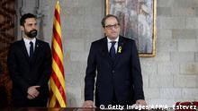 Spanien Katalonien Politik Quim Torra