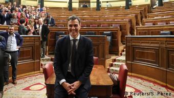 Ο νέος πρωθυπουργός της Ισπανίας Πέδρο Σάντσεθ.