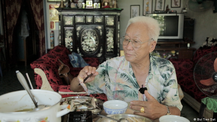 Fischer Duon Cong To in his home in Can Tho
