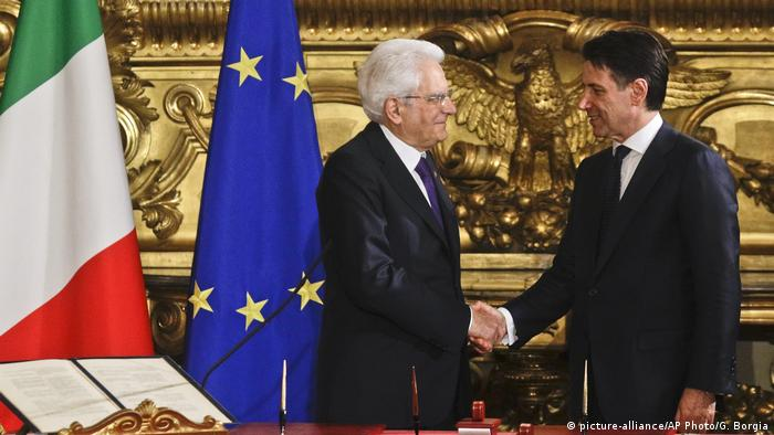 New Italian PM Giuseppe Conte vows radical change in