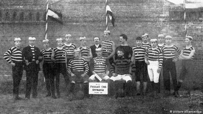 BFC Germania 1888 team in 1891 (picture-alliance/dpa)