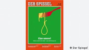 Το πρωτοσέλιδο του περιοδικού Spiegel