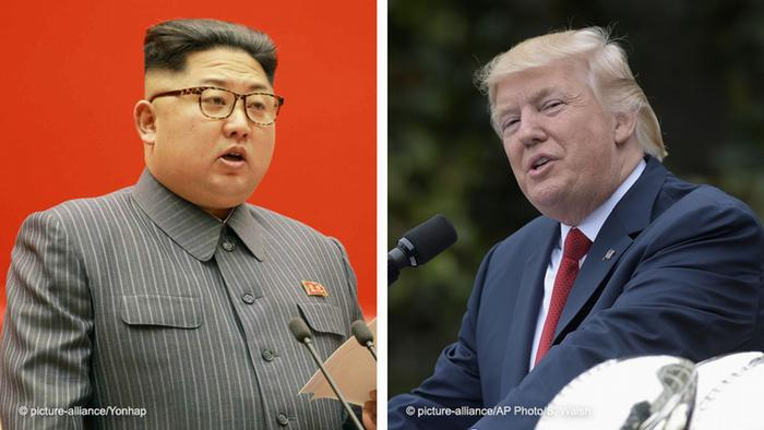 Kim Jong Un ve Donald Trump